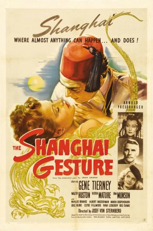 shanghai gesture poster