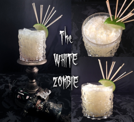 white zombie collage